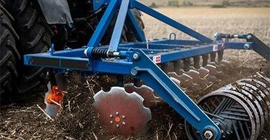 Якісне розрівнювання і розпушування ґрунту: вибираємо дискову борону до мінітрактора