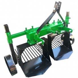 Вібраційна картоплекопалка до мінітрактора дворядна КВТ-2